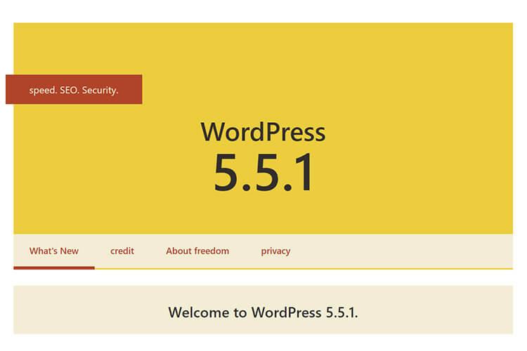 WordPressメジャーアップデート対応記録(ver5.5)