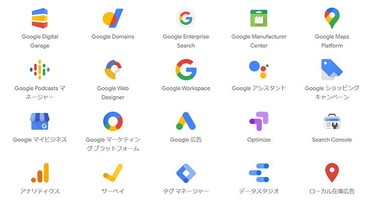集客/セールスで活用すべきGoogle提供サービス(現在8選)